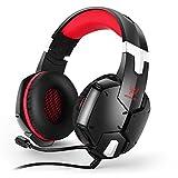 KOTION EACH G1200 3,5 mm Spiel-Kopfhörer mit Mikrofon Stirnband -Kopfhörer...