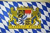 Fahne Flagge Freistaat Bayern Metallösen 90cm x 150cm F24
