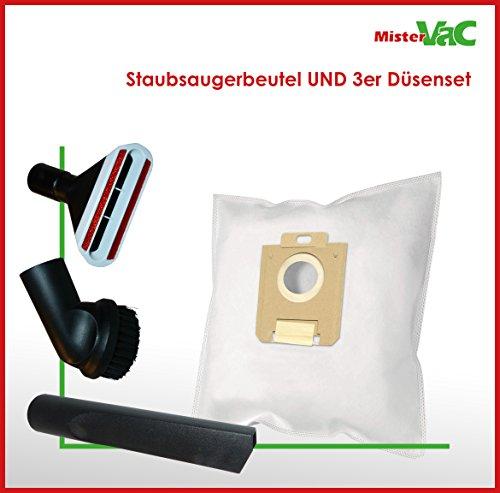 10x Staubsaugerbeutel + Düsenset geeignet Philips FC 9197/91 PerformerPro ECO