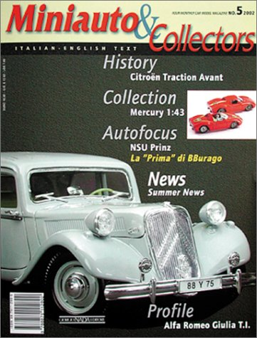 Miniauto & Collectors 2002: Four-Monthly Car Model Magazine