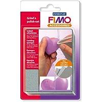 Staedtler Fimo 8700 08 Grind n polish set - Set de esponjas abrasivas para lijar y pulir Fimo [importado de Alemania]