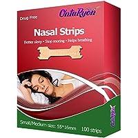 OntaRyon Nasal Strips ( x100 REGULAR SIZE ) Right Aid to STOP SNORING Premium Quality / 3 Months Supply preisvergleich bei billige-tabletten.eu