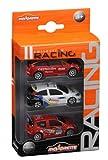 Majorette - 20840200 - Vehicule Racing Miniature - 3 Pieces Set - Modèle Aléatoire