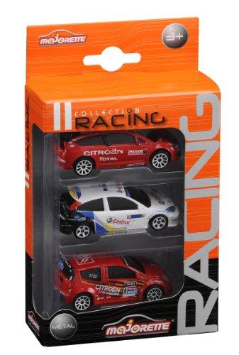 Majorette- 20840200- Vehicule Racing Miniature, 3 pieces set - Modèle aléatoire 3467452084021