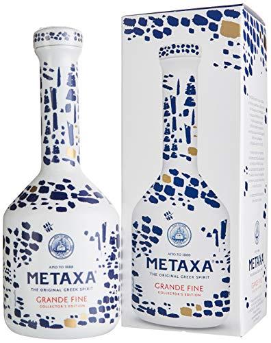 Metaxa Grande Fine Collector\'s Edition Keramikflasche mit Geschenkverpackung (1 x 0.7 l)