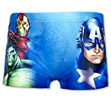 Marvel Avengers - Maillots de bain - Garçon - Bleu - 6 ans