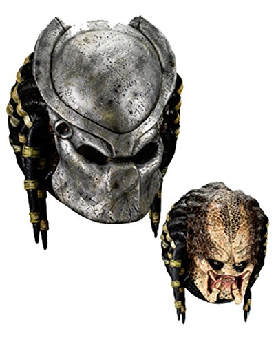 Predator Maske Deluxe (Predator Kostüm)