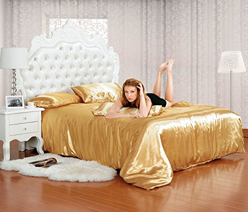 6-tlg-miro-satin-bettwsche-20x200-gold-4x-kissenbezge-spannbettlaken-gold