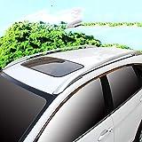 BEESCLOVER portaequipajes para Techo de Coche con Barras transversales y Accesorios Exteriores para Llevar Equipaje de Viaje para Honda CRV 2012 2013 2014 2015 2016