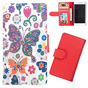 DooDa - For Nokia Lumia N625 PU Leather Designer Fashionable Fancy Wallet Flip Case Cover Pouch With Card, ID & Cash Slots And Smooth Inner Velvet With Strong Magnetic Lock