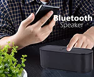 LG V20 Compatible Certified Portable Wireless Speakers 10W Output Power with Enhanced Bass Passive Vibration, Build in Triple Protectionand Microphone for Handfree Phone Calls