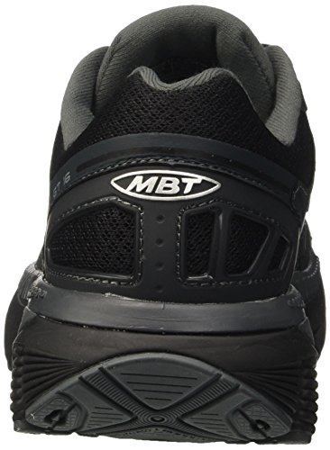Mbt Women Gt 16 Running Shoes Multicolore (nero / Argento)
