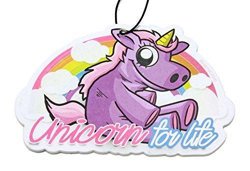 Preisvergleich Produktbild UNICORN Einhorn Duftbaum Lufterfrischer Rainbow & Stardust Air Freshener - DUB (Duft: Stardust)