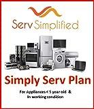 Serv Simplified 1 Year Extended Warranty for Refrigerator (Single Door)| Refrigerator Ageing Under 1095 Days|