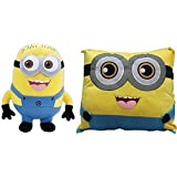 Wonderland Toy's Combo Pack Of Minion Soft Toy 22 Cm And Minion Pillow 40 Cm Stuffed Plush For Kids  Perfect Birthday Gift For Kids