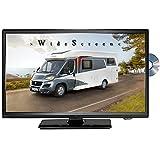 Reflexion LDDW20N LED HD TV 20 Zoll TV DVB-S2/C/T2 DVD 12/24/230 Volt Fernseher Camping Wohnmobil KFZ