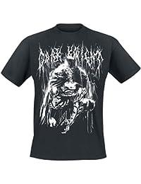 Batman Bat Metal T-Shirt Schwarz