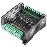 Hilitand Tablero De Control Industrial del PLC, Regulador del Regulador del PLC De DC 24v Controlador Lógico Programable De La Placa De Control Industrial con El Caso