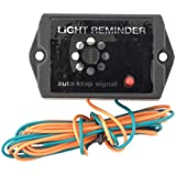 Avisador de luces encendidas 6-12V 3,8x3,5x2,7cm