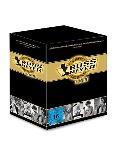 Russ Meyer - 50 Jahre Kino Edition, die Dritte (Limitierte Edition mit kultigem Postkartenset, 5 Discs)