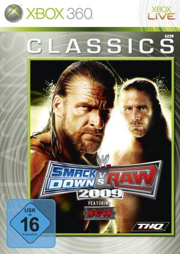 Wwe-360-spiele (WWE Smackdown vs. Raw 2009 [Xbox Classics])