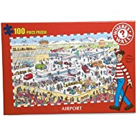 Where's Wally 100-Piece Puzzle Airport