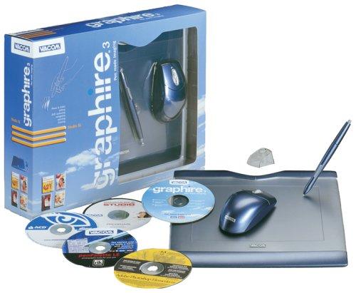 Graphire3 Studio XL (A5 tablet, pen & mouse, Elements 2, Studio 8,...