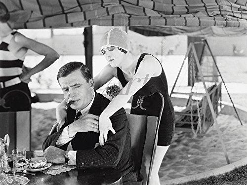 Artland Qualitätsbilder I Poster Kunstdruck Bilder 40 x 30 cm Film TV Stars Foto Schwarz Weiß C4VD der Garten des Unkrauts 1924 (Schwarz Und Weiß-unkraut-poster)