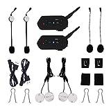 EJEAS® Ein Paar E6 1200 m 6 pilitos kabellos Bluetooth Motorrad Gegensprechanlage Helm Headset VOX Wasserdicht GPS Musik Upgrade-Programm