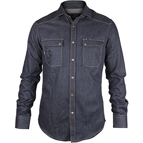 "Preisvergleich Produktbild Dunderdon Jeans-Hemd ""SH7"", 1 Stück, XXXL, capriblau, DW30072741000009"