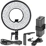 Bestlight® DVR-300DVC 300 Piezas LED 19W 3000-7000K Regulable Luz Anillo Macro para vídeo fotográfico continuo de luz para vídeo, retrato y fotografía de iluminación o suplemento