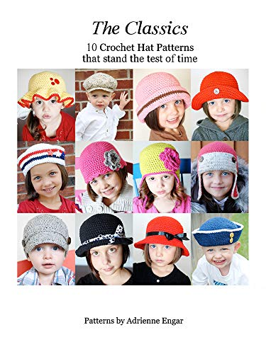 The Classics: 10 Crochet Hat Patterns That Stand the Test of Time (English Edition) - Classic Hat Earflap