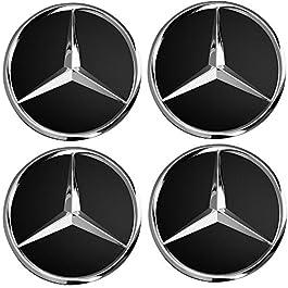 """REGALO # O tappi per adattarsi Chrysler CERCHIONI Set di 4 15/"""" COPRICERCHI Universale Copertura HUB"""