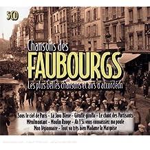 Chansons Des Faubourgs : Les Plus Belles Et Airs D'Accordéon