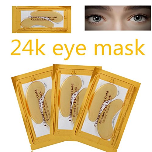 10 Paar Kollagen Augenpads Eye Patch Profi Augen Gel Patch Wirklich Effektiv für Anti-Falten...