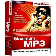 Maximum MP3, 1 CD-ROM 5 und mehr MP3 Internet Radio-Streams parallel aufzeichnen .... Für Windows 98/SE/ME/2000/XP