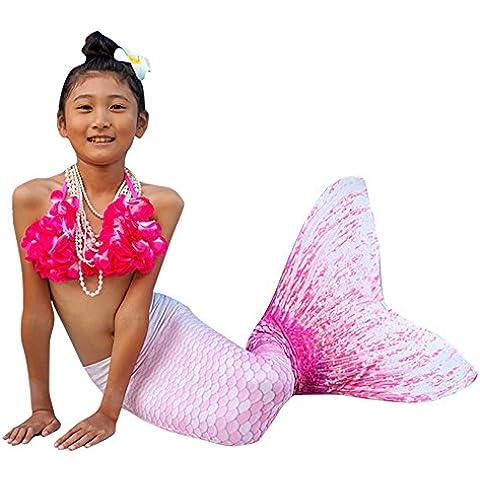 Abyss Mermaid® Colas De Sirena Para Nadar Para Niñacolor Rosado talla 6