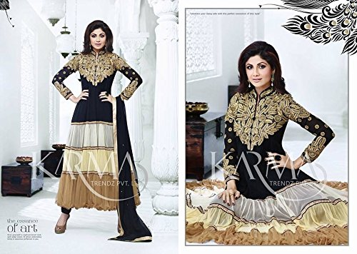 Indian Pakistani Latest Bollywood Anarkali Designer Dress Shalwar Kameez Suit -