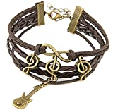 Habors Jewel Touch Brown Leather Charm B...