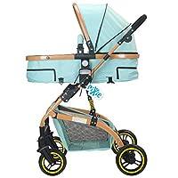 Pixie High Landscape Luxury Stroller (Grey)