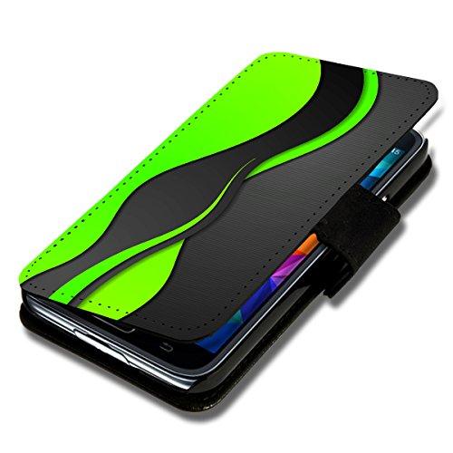 Book Style Flip Handy Tasche Case Schutz Hülle Schale Motiv Etui für Wiko Stairway - Flip 1A46 Design8