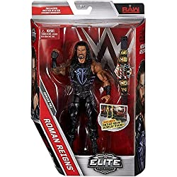 WWE SERIE ELITE 51 wrestling action figure - ROMANA Reigns W/United States CINTURA ACCESSORIO