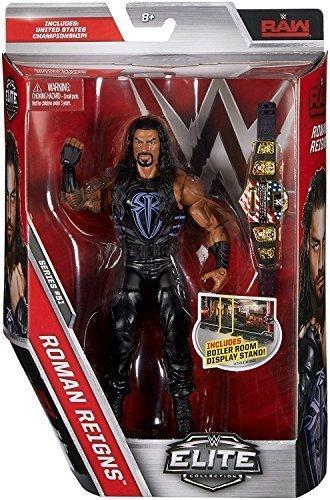 WWE Elite Serie 51 Wrestling Actionfigur - Roman Reigns Mit Vereinigte Staaten Gürtel Zubehör (Action-figur-gürtel Wrestling Wwe)