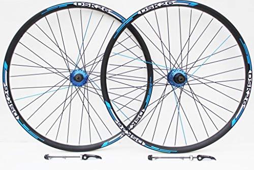 66cm Roue de vélo de Montagne Bleu et Décoder Stickers pour Frein à Disque Uniquement Roues,...