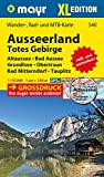 Ausseerland, Totes Gebirge XL: Wander-, Rad- und MTB-Karte 1:25000 GPS-genau (Mayr Wanderkarten)