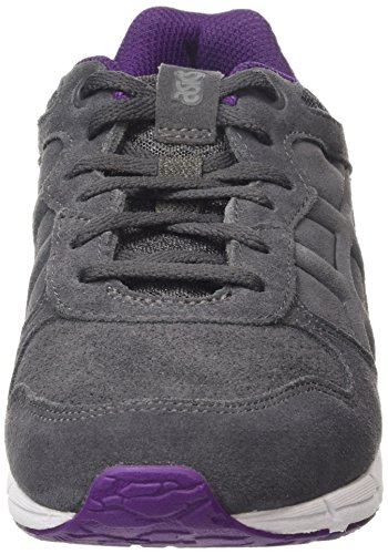 Asics Shaw Runner, Sneakers Basses Mixte adulte Gris (dark Grey/dark Grey 1616)