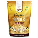 Organic Ginger Powder | Powerful Anti Inflammatory & Antioxidant Ginger Root Powder | Supports Healthy Digestion & Blood Sugar | Perfect for Tea, Smoothies & Savoury Dishes