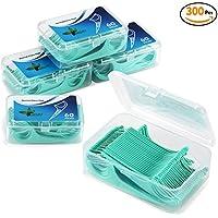 [Sponsorisé]EFANTUR Fil Dentaire 300 PCS Porte-fil Dentaire, la poignée HIPS confortable de qualité alimentaire, maintenant...