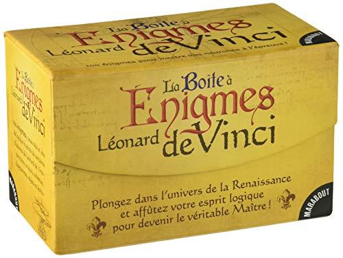 La Boîte à Énigmes Léonard de Vinci par Collectif