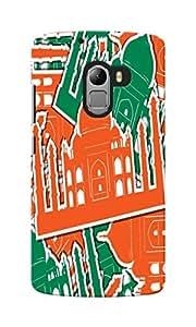 KnapCase Taj Mahal Designer 3D Printed Case Cover For Lenovo K4 Note